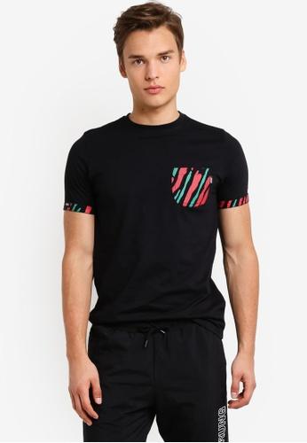 Wrung black Kickin' It T-Shirt WR395AA78MPXMY_1