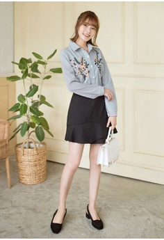 2b849f4737ca2 54% OFF Tokichoi Floral Embroidered Buttoned Up Blouse S  34.90 NOW S   15.90 Sizes S M