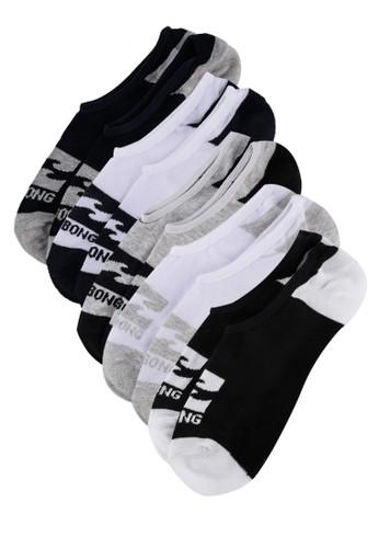 Billabong multi Invisible Socks 5 Pack A1C0BAA65F4981GS_1