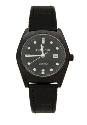 Fortuner Watch Jam Tangan Wanita FR K1011BL - Full Black