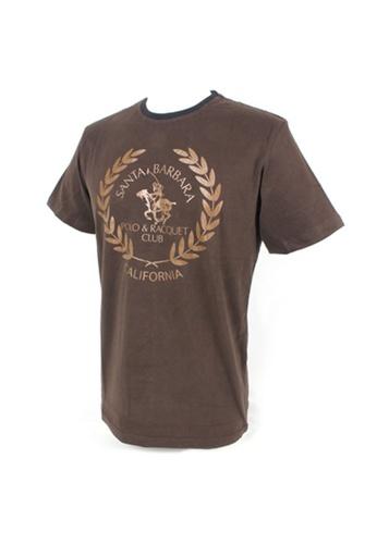 Santa Barbara Polo & Racquet Club brown SBPRC Regular Graphic T-Shirt 15-8404-95 5FA1FAAE3774FEGS_1