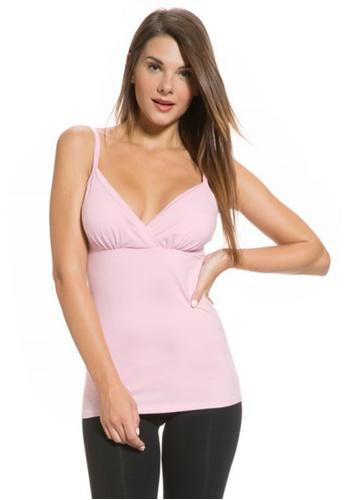 Mayarya pink Shaping Nursing Camisole BA1C0AA427FC1DGS_1
