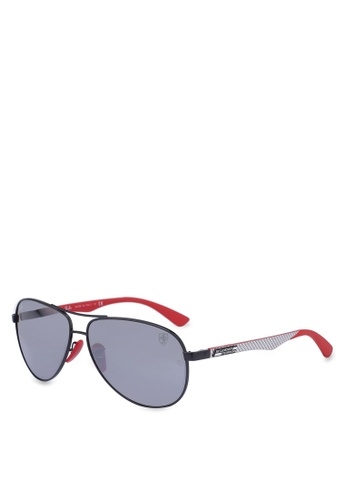 e7ae99528d7d89 Ray-Ban black Ray-Ban Scuderia Ferrari Collection RB8313M Sunglasses  BF3C9GL3F326BEGS 1