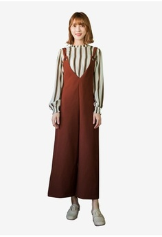 52c5ba692ad Psst... we have already received your request. Tokichoi. Oversized Pinafore  Jumpsuit