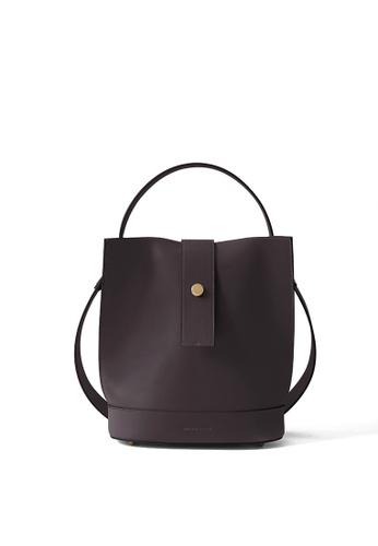 RABEANCO brown RABEANCO ARIA Shoulder Bag - Brown CAA25AC1A9D7E4GS_1