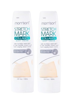 Morrison Stretch Mark Collagen Body Cream, Set of 2