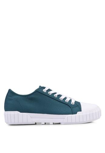 Calvin Klein 綠色 休閒運動鞋 DDD72SH86E5FEAGS_1