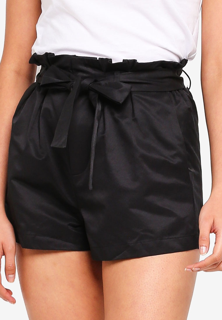 Paper Black 6IXTY8IGHT Style Twill Shorts bag YSwaqnC