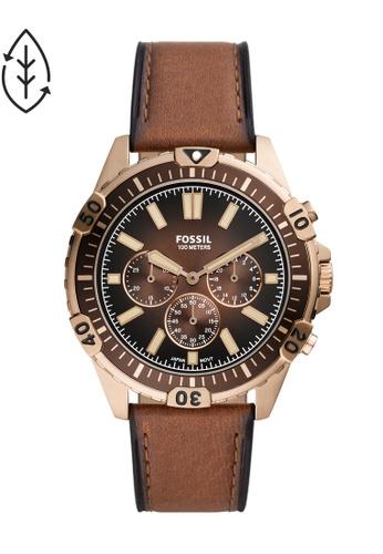 FOSSIL brown Garrett Watch FS5867 14F55ACC235BBEGS_1