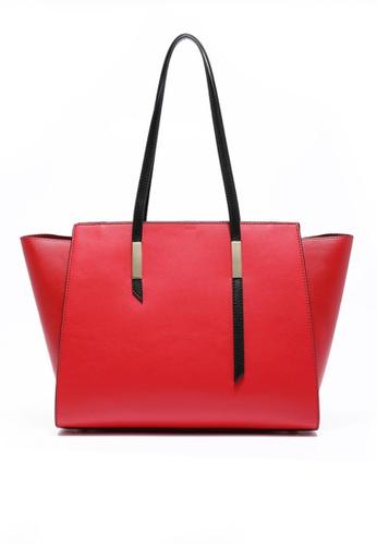 Twenty Eight Shoes red VANSA Cow Leather Tote Bag VBW-Tb01022 CD2E9AC67DD6ABGS_1
