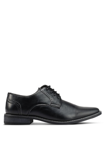 Bata black Lace-Up Business Shoes FF253SH4F7B319GS_1
