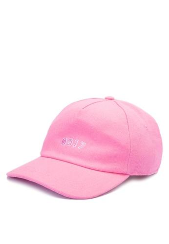 Globe pink 0917 Dad Cap GL929AC0JGHNPH_1