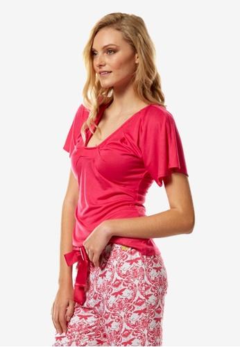 Deshabille pink Hope Top CA5C3AA9037B6BGS_1