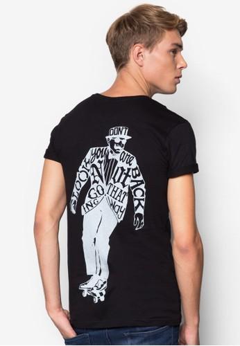 Patrickesprit手錶專櫃 圖文設計TEE, 服飾, 印圖T恤