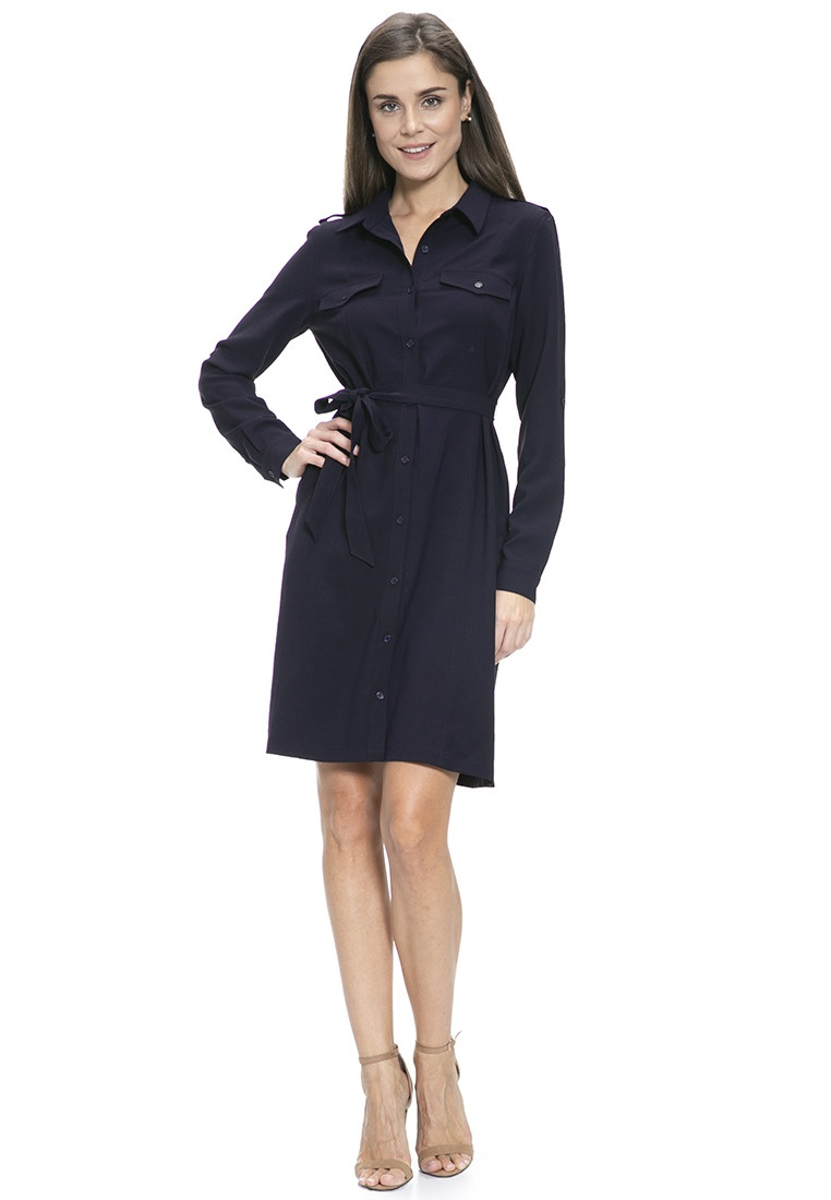 Mayarya Safari Dress Okavango Safari Dress Okavango Mayarya Navy w54B4qf