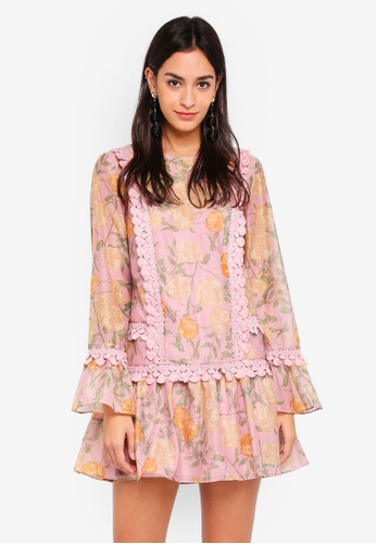 Finders Keepers pink Meadows Dress 377E1AAD91AF77GS_1