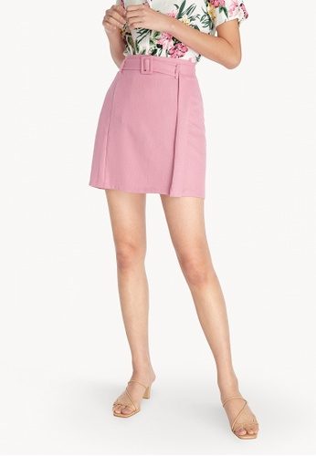 Pomelo pink Mini A-Line Skirt - Pink C151EAAE227237GS_1