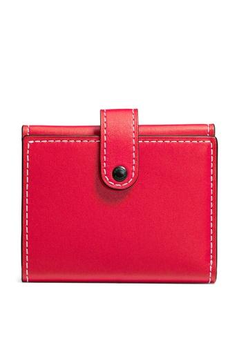 Coach red Small Slim Trifold Wallet (cv) D07B7ACD756B54GS_1