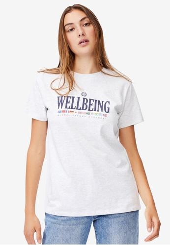 Cotton On white Classic Slogan T-Shirt 33D86AAB2B850AGS_1