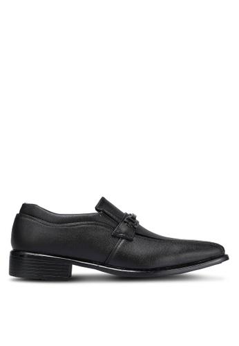 Albertini black Slip On Dress Shoes AL779SH0RJSYMY_1