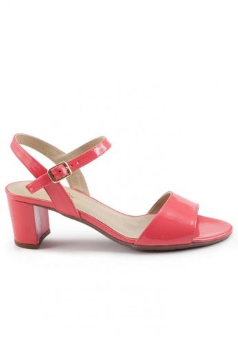 Shu Talk 紅色 漆皮高跟涼鞋 SH544SH099V7TW_1