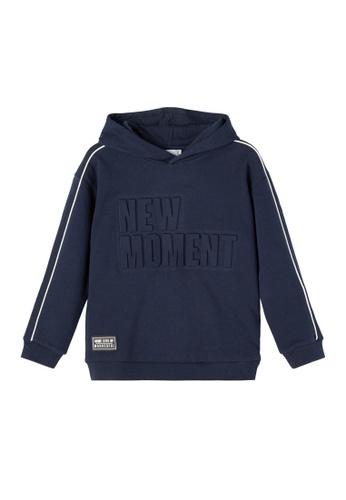 NAME IT navy Narma Long Sleeves Sweat Hoodie 54D67KAB7FA9F1GS_1
