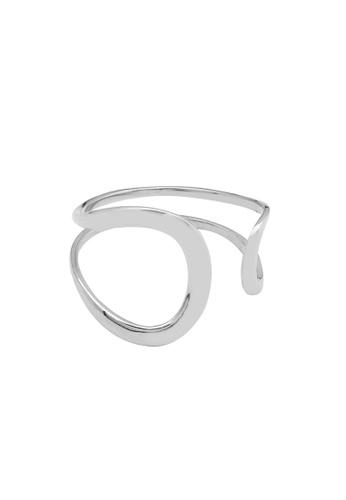 LYCKA silver LDR1272 S925 Silver Elegant Open Ring ABE16AC0264E80GS_1