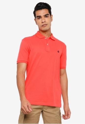 Springfield orange Essential Pique Polo Shirt DF601AA863C378GS_1