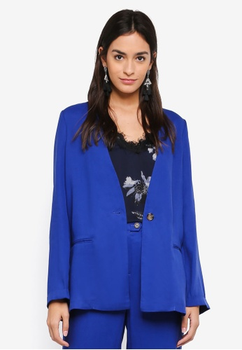 Vero Moda blue Gilly Blazer 8D1C4AAC167991GS_1