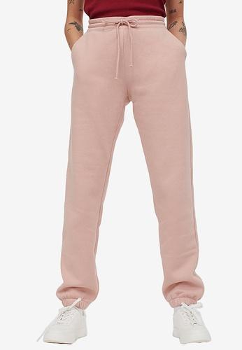H&M pink Sweatpants 89CC6AA312FDE6GS_1