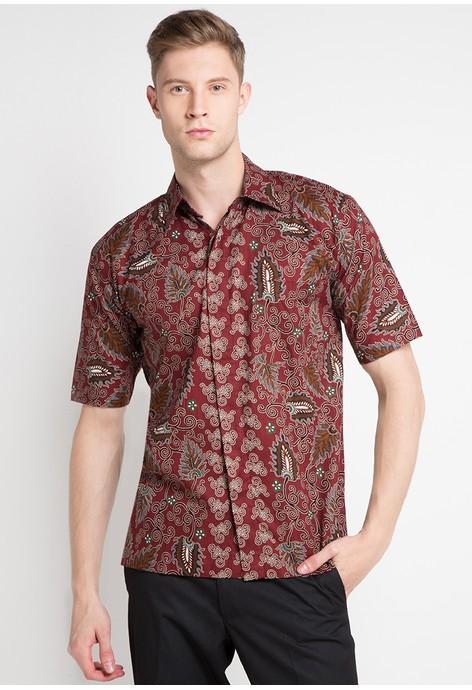 Jual Kemeja Batik Pria Terbaru  c557b06167