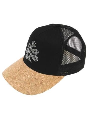 Chronomart black BAEM  Corkwood Peak Snapback Baseball Cap Bling Logo Special Edition CH783AC19IOAPH_1
