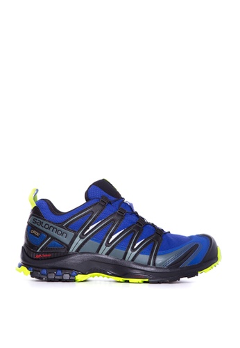 Salomon blue Salomon XA Pro 3D GTX Maz Blue/Bk/Lime Gr 5D583SHED0FC01GS_1
