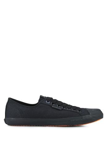 Superdry black Low Pro Sleek Sneakers SU137SH0RSH6MY_1