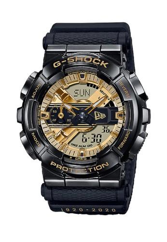 G-Shock black G-Shock Men Jam Tangan GM-110NE-1A Black F1400ACDE24AF9GS_1