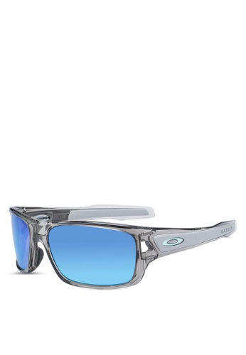 Oakley 灰色 OJ9003 太陽眼鏡 28942GL698B6C1GS_1