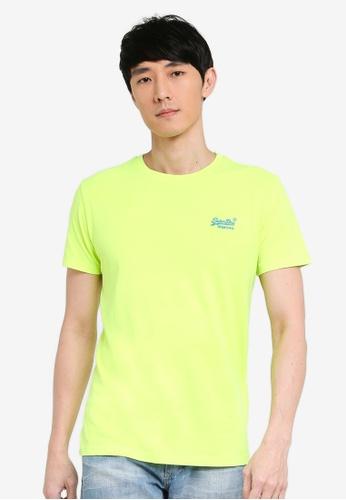 Superdry 黃色 Orange Label Neon Lite Tee 840E7AA143A7A3GS_1