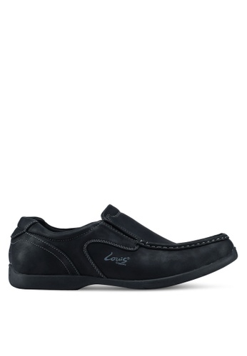Louis Cuppers black Casual Loafers CBF3FSH24F76DBGS_1