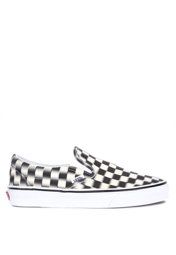 68dba5346126 Shop VANS Blur Checkered Classic Slip-On Sneakers Online on ZALORA  Philippines