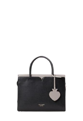 Kate Spade black Kate Spade Medium Spencer PXRUB054 Satchel Bag In Black C89D1ACF89DE4EGS_1