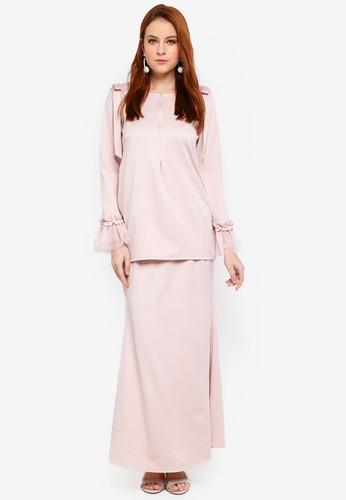 JubahSouq pink Afeeya Kurung E301DAA71DBE38GS_1