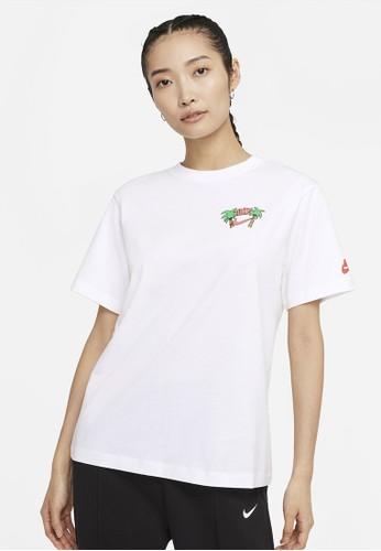 Nike white As W Nsw Tee Summer 2 79878AA282E5C8GS_1