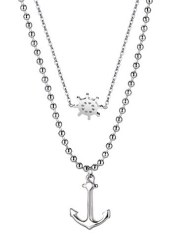 Trendyshop silver Fashion Necklace C5C3FAC345107AGS_1