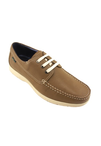 Hanson Bootmaker beige Hanson Bootmaker Lace Up Casual HA656SH01RXESG_1