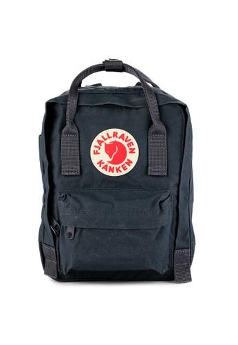 Fjallraven Kanken multi and navy Kanken Mini Backpacks FJ242AC0VPV9ID_1