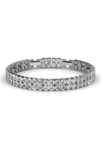 Krystal Couture gold KRYSTAL COUTURE Jubilee Bracelet Embellished with Swarovski® crystals E9EF4ACB73C1E6GS_1