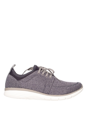 Hush Puppies grey Hush Puppies Sammy Speed Oxford - Grey CDE70SH7F12511GS_1
