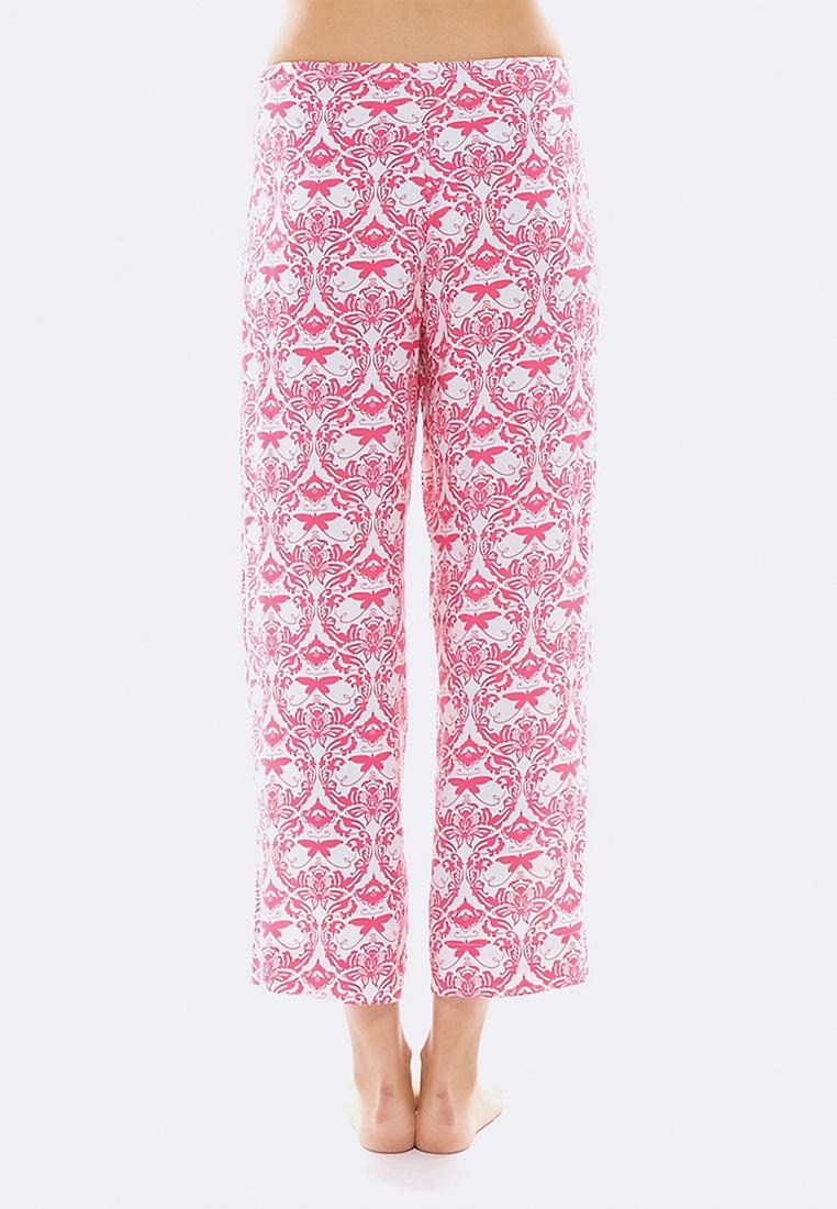 Crop White Pink Pink Deshabille amp;White Bag In Hope Pant qcann7Z45