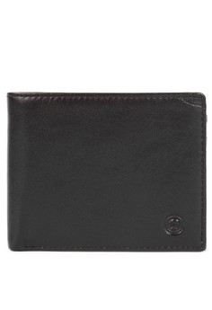 Billfold with Center Flap Leather Wallet
