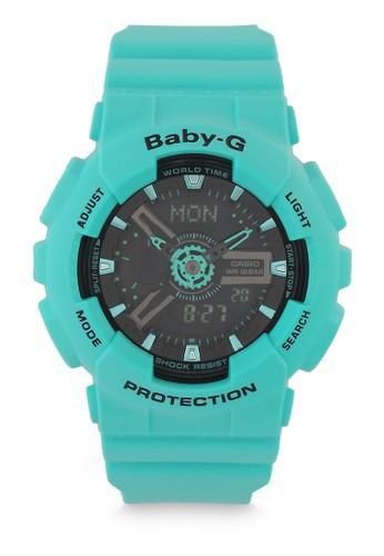 Baby-G green Casio BABY-G Jam Tangan Wanita - Green Tosca - Resin - BA-111-3ADR 7F58FAC3BFB76BGS_1